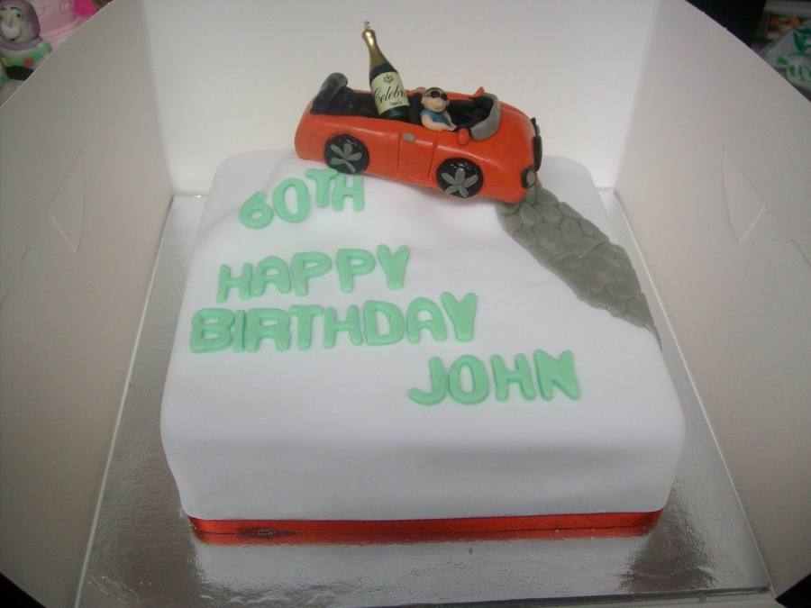 Racing Car For 60Th Birthday on Cake Central