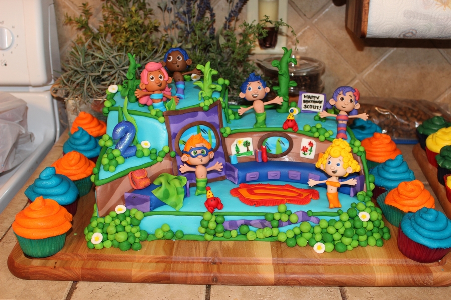 Bubble Guppies Cake Cakecentral