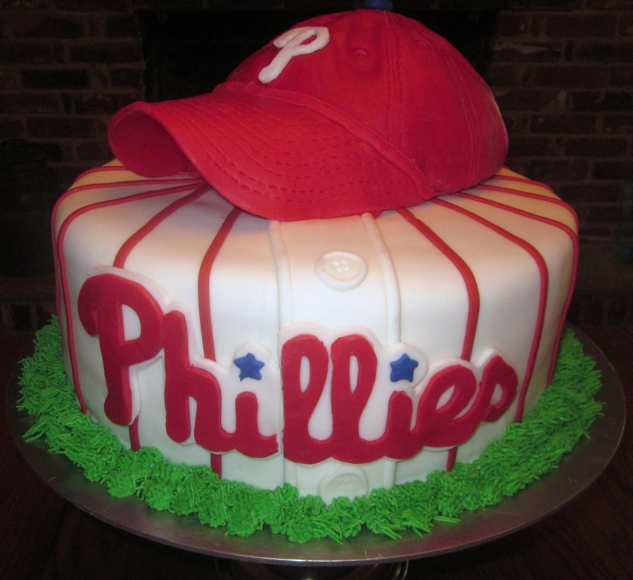 Phillies Groom S Cake Cakecentral Com