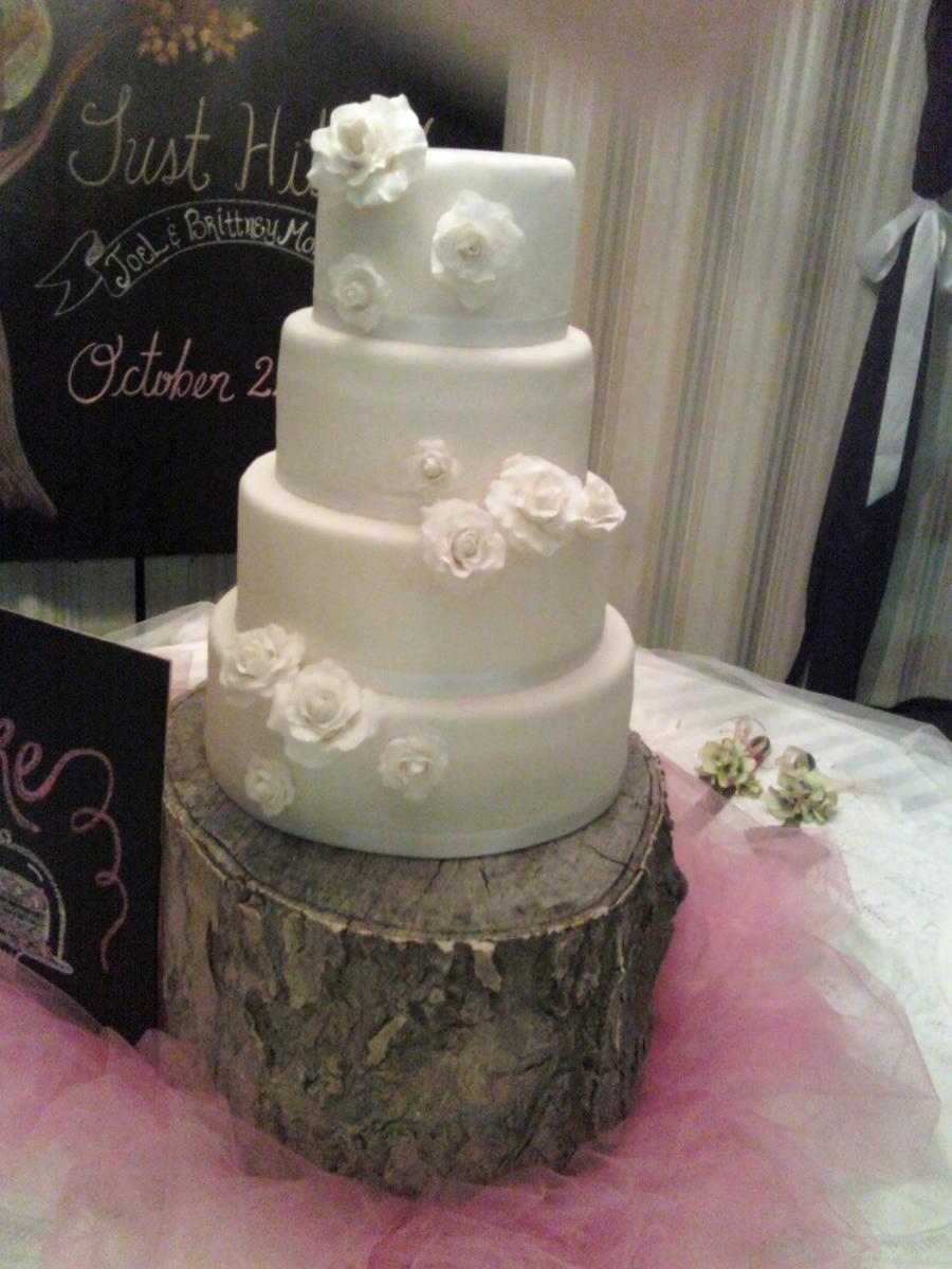 Friends Wedding Cake on Cake Central