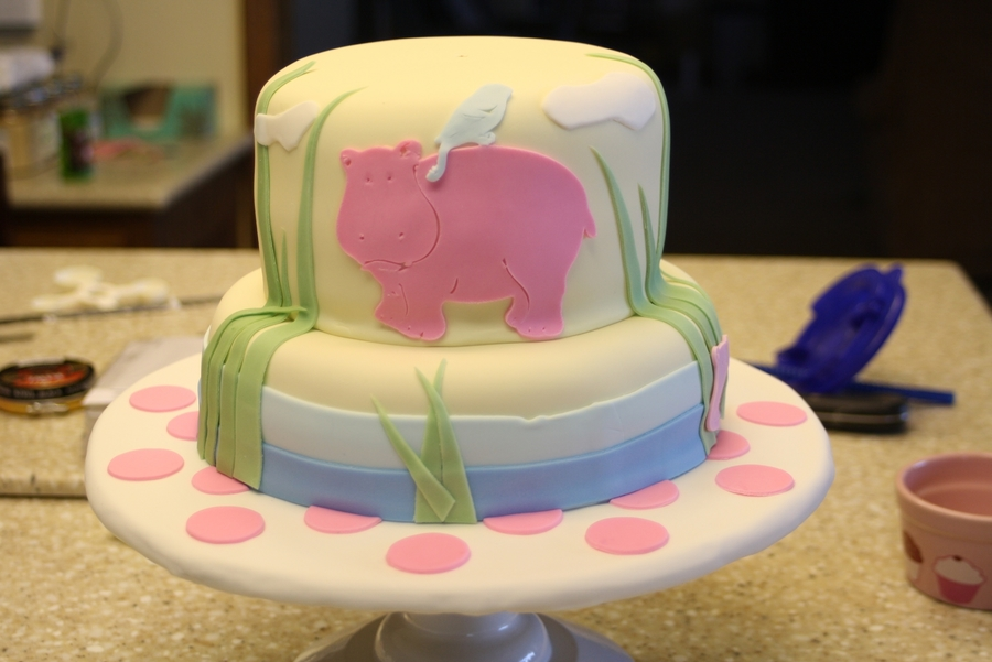 Granddaughters 1St Birthday Cake  on Cake Central