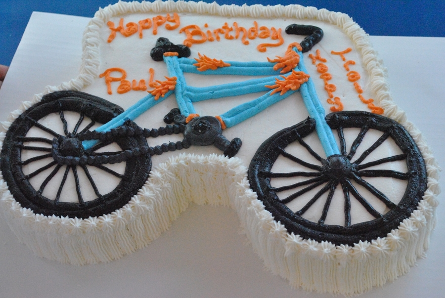 Bicycle Cake on Cake Central