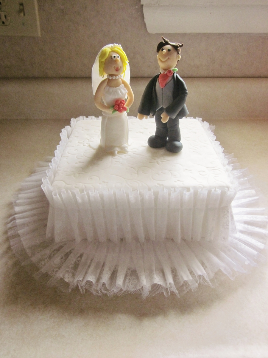 Bride And Groom  on Cake Central