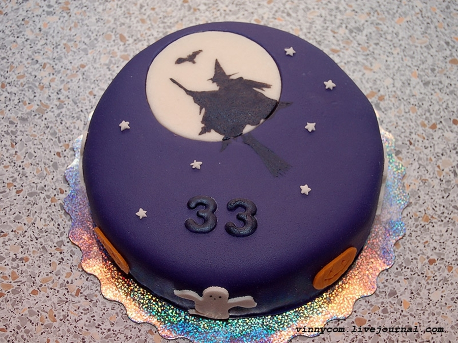 Birthday At Halloween on Cake Central