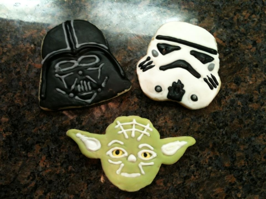 Star Wars Cookies on Cake Central