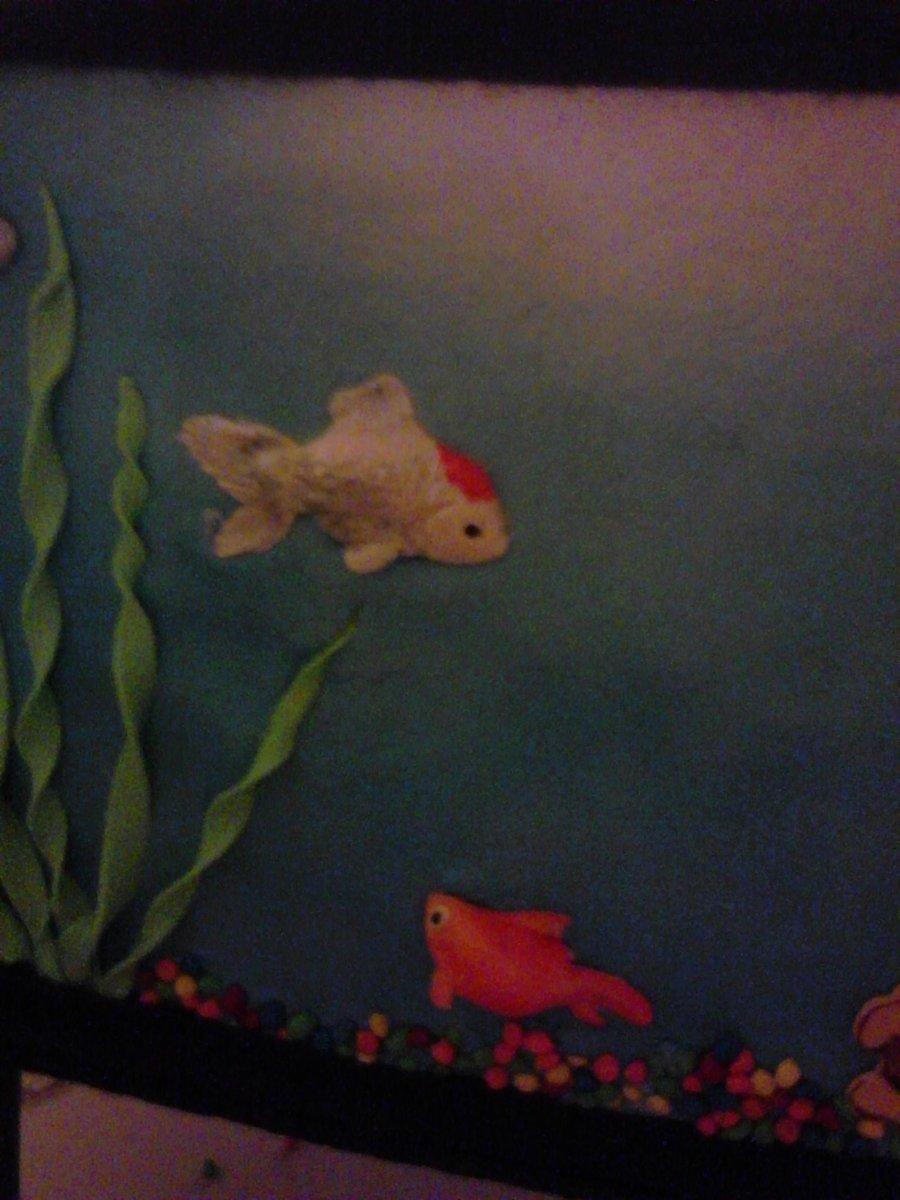 Fish Tank Cake Tutorial