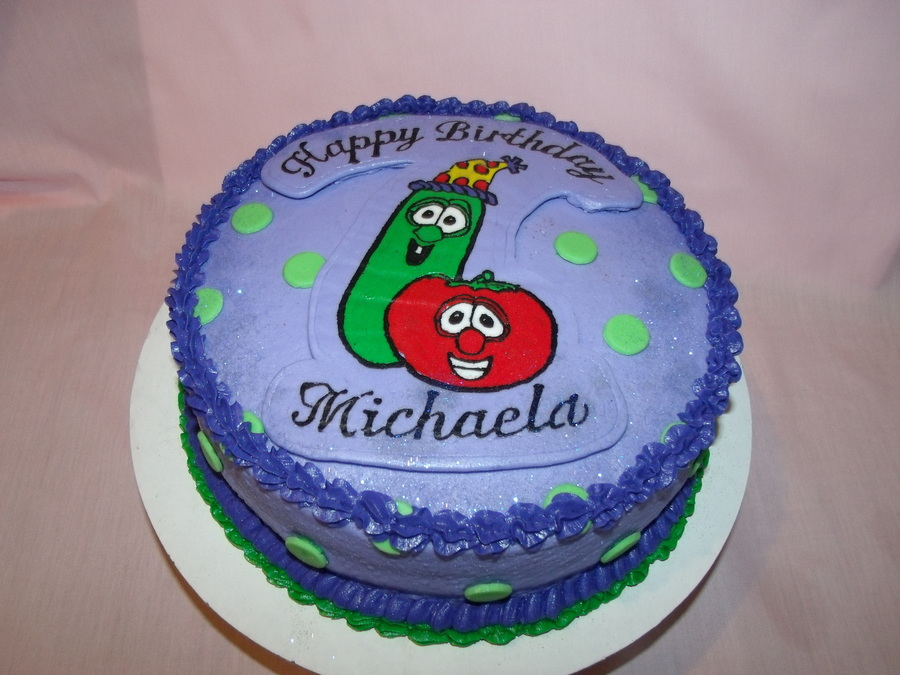 Veggie Tales Cake on Cake Central