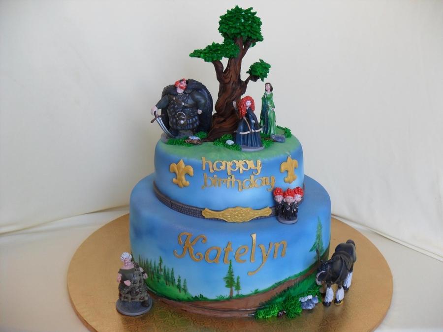 Cake Decorating Disney Characters : Disney Brave Cake - CakeCentral.com