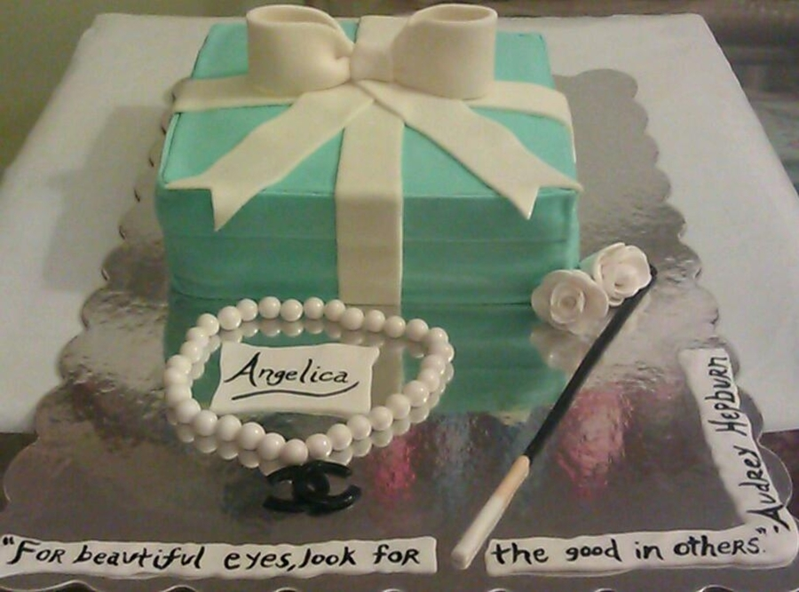 Breakfast At Tiffanys on Cake Central