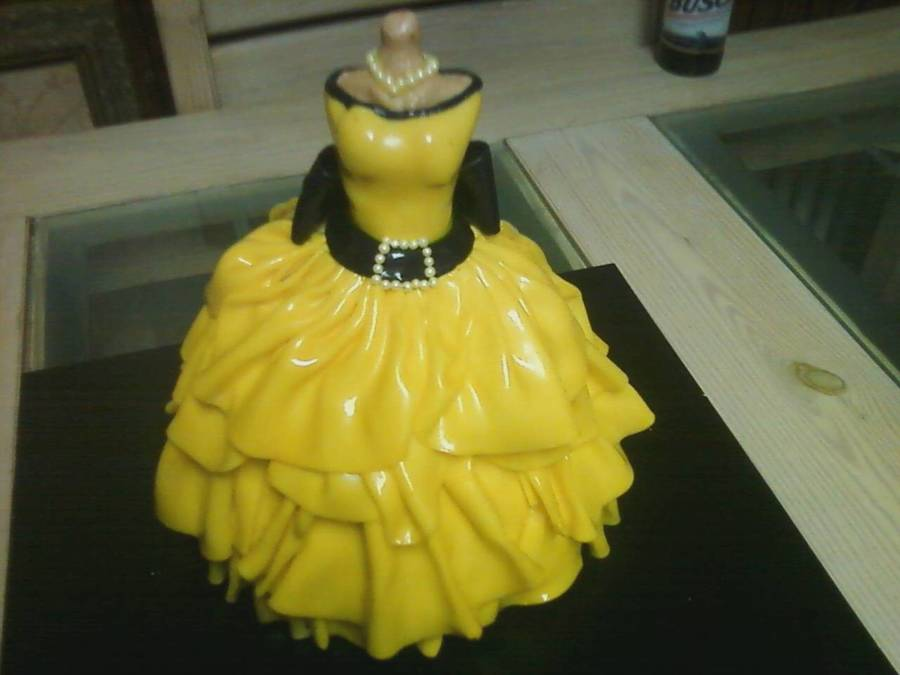 Yellow Quinceanera on Cake Central
