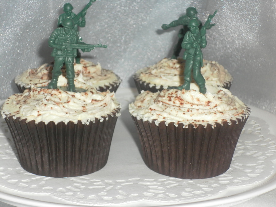 Soldier Theme Cupcakes on Cake Central