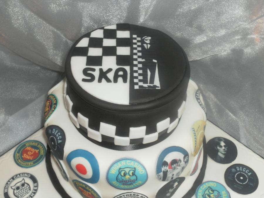 30th Birthday Cake Ska Northern Soul Cakecentral Com