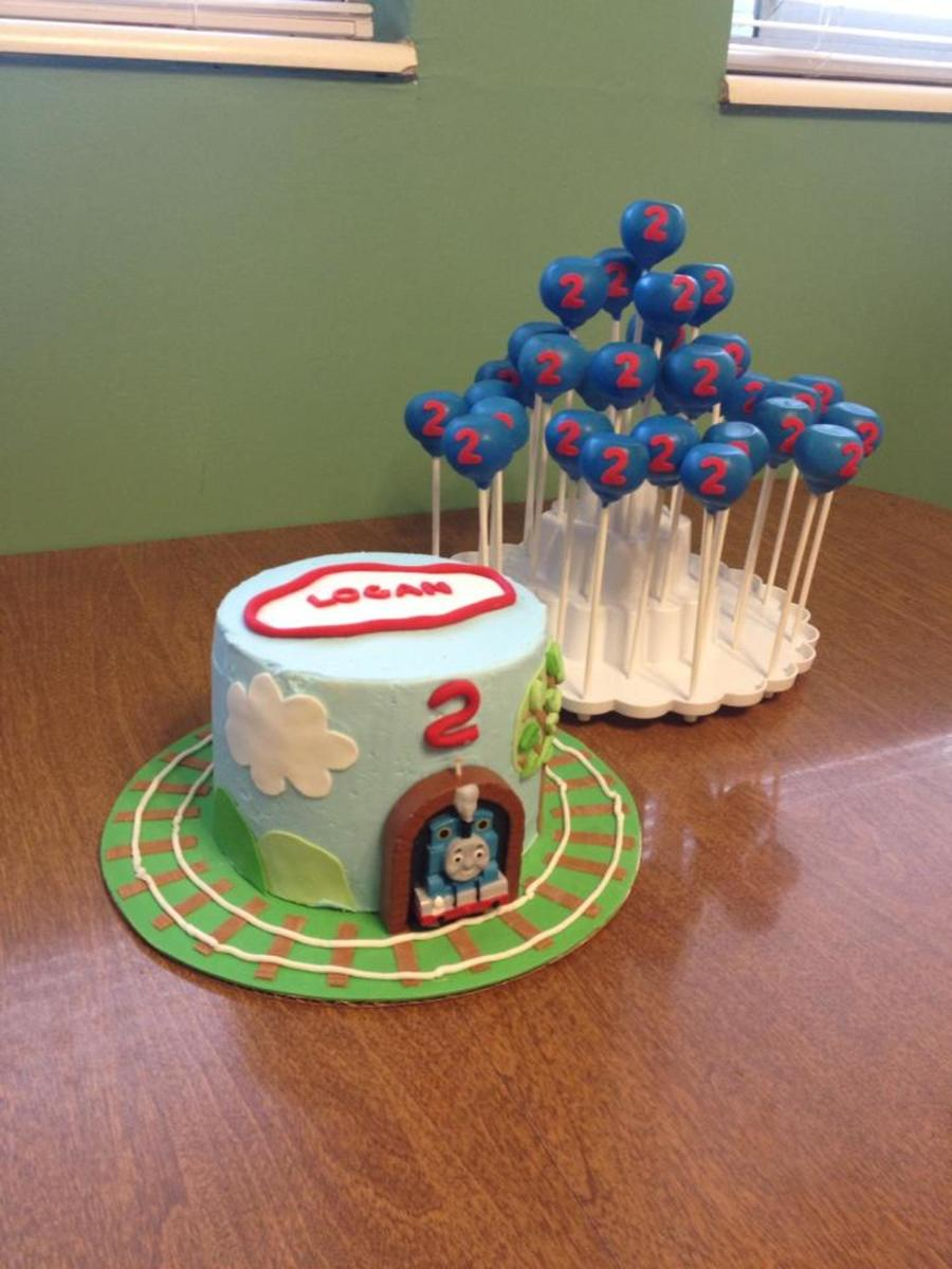Thomas Cake And Cake Pops on Cake Central