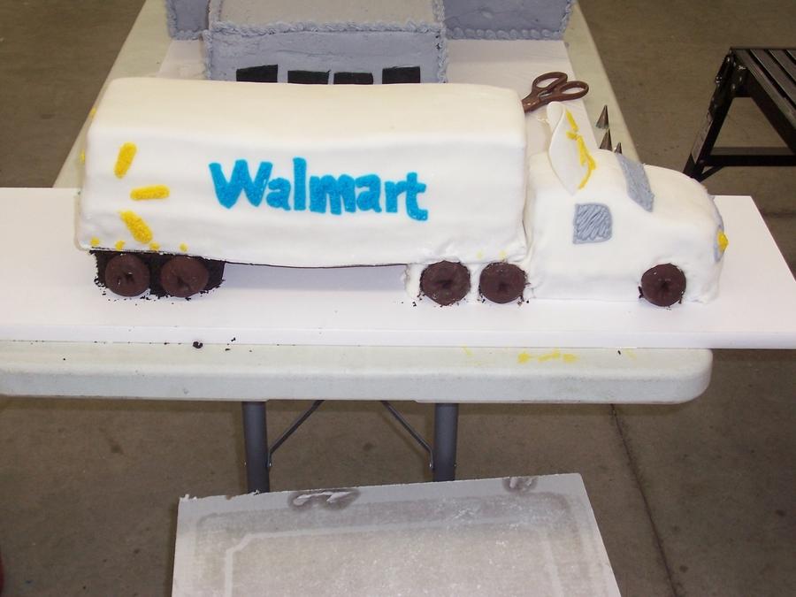 Tractor Trailer CakeCentralcom