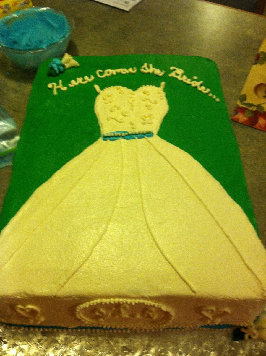 Gown Cake on Cake Central