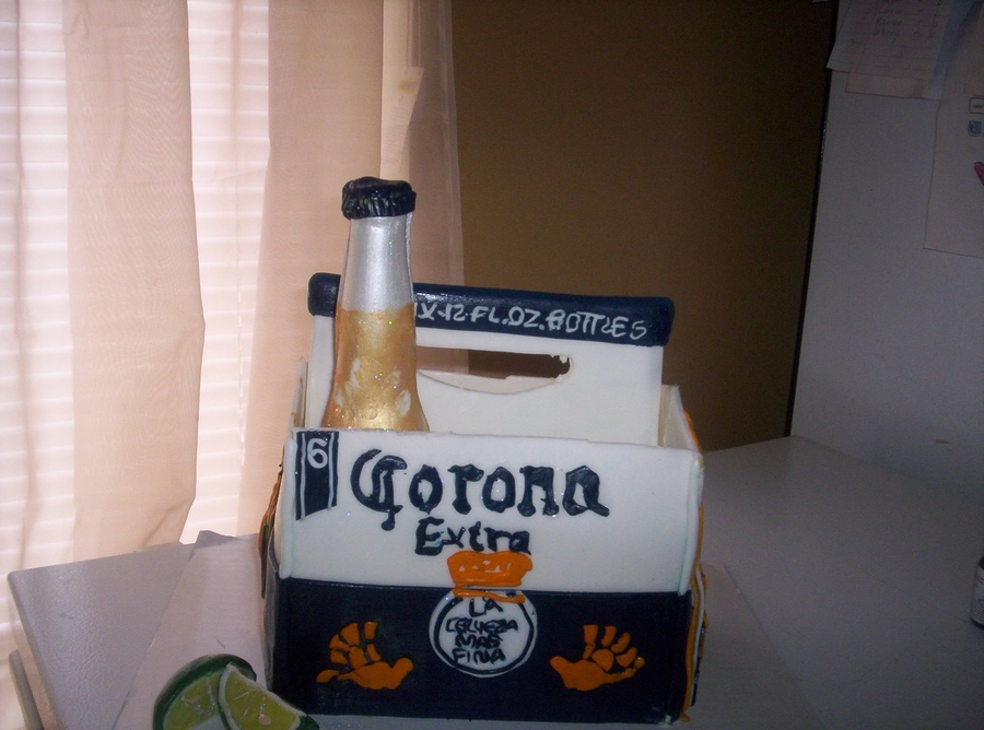 Corona Corona Anyone on Cake Central