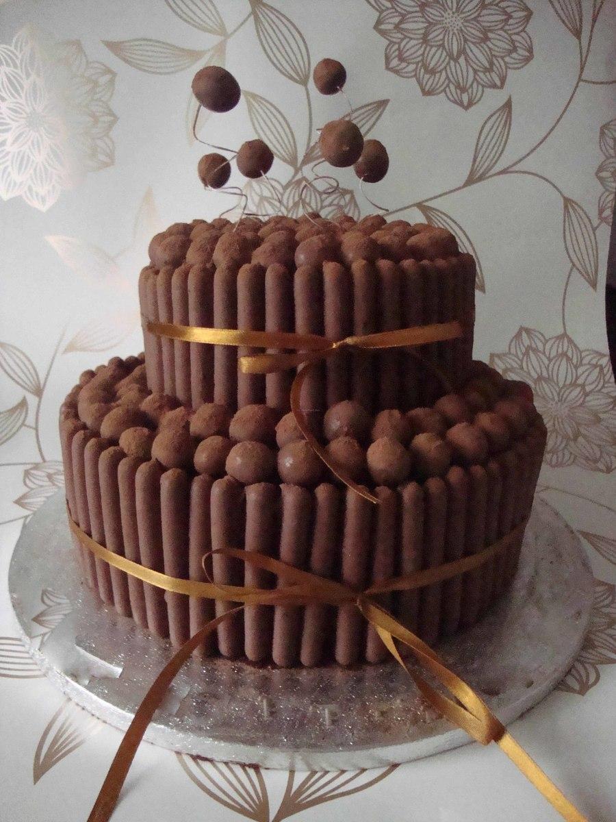 Chocolate Birthday Cake Filling