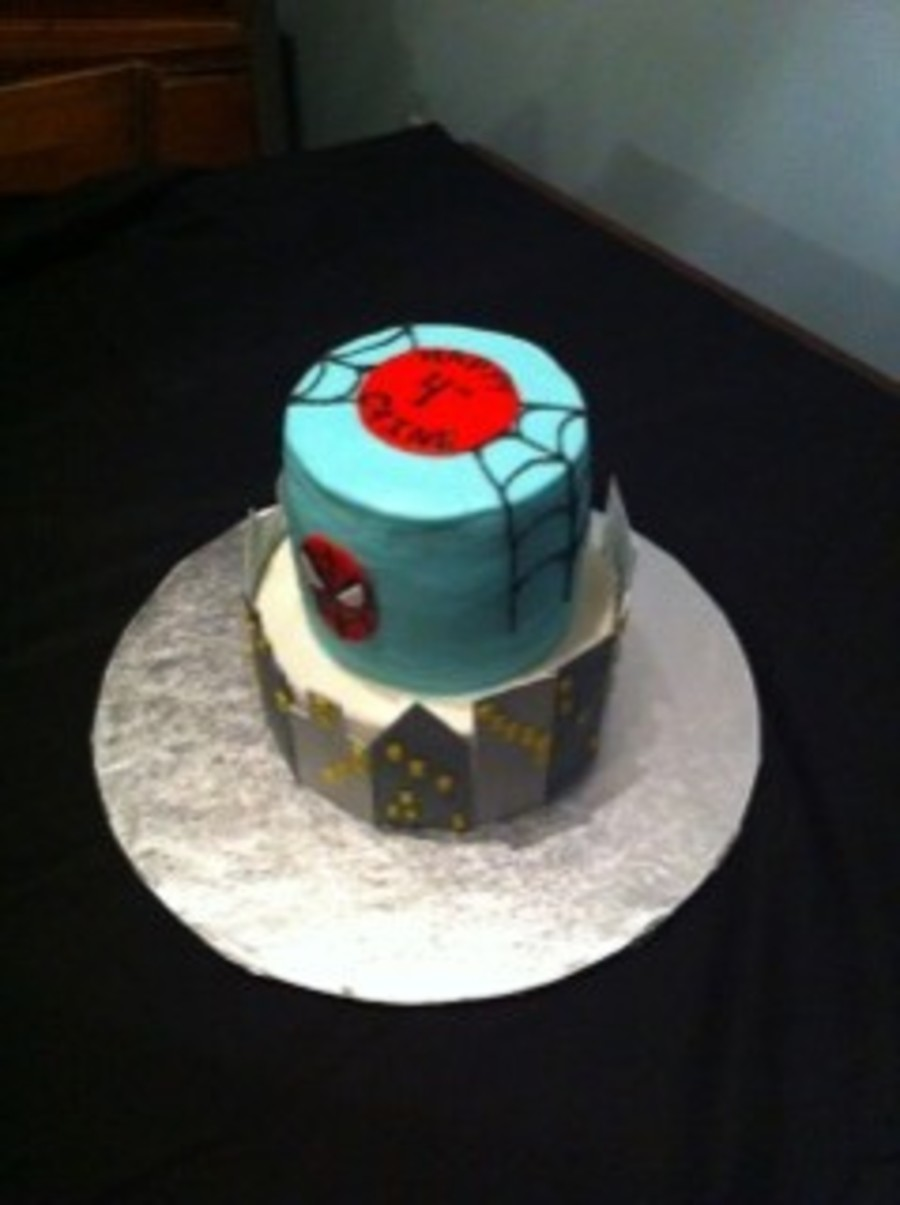 Spidermannnnnn!!!!!!!! on Cake Central