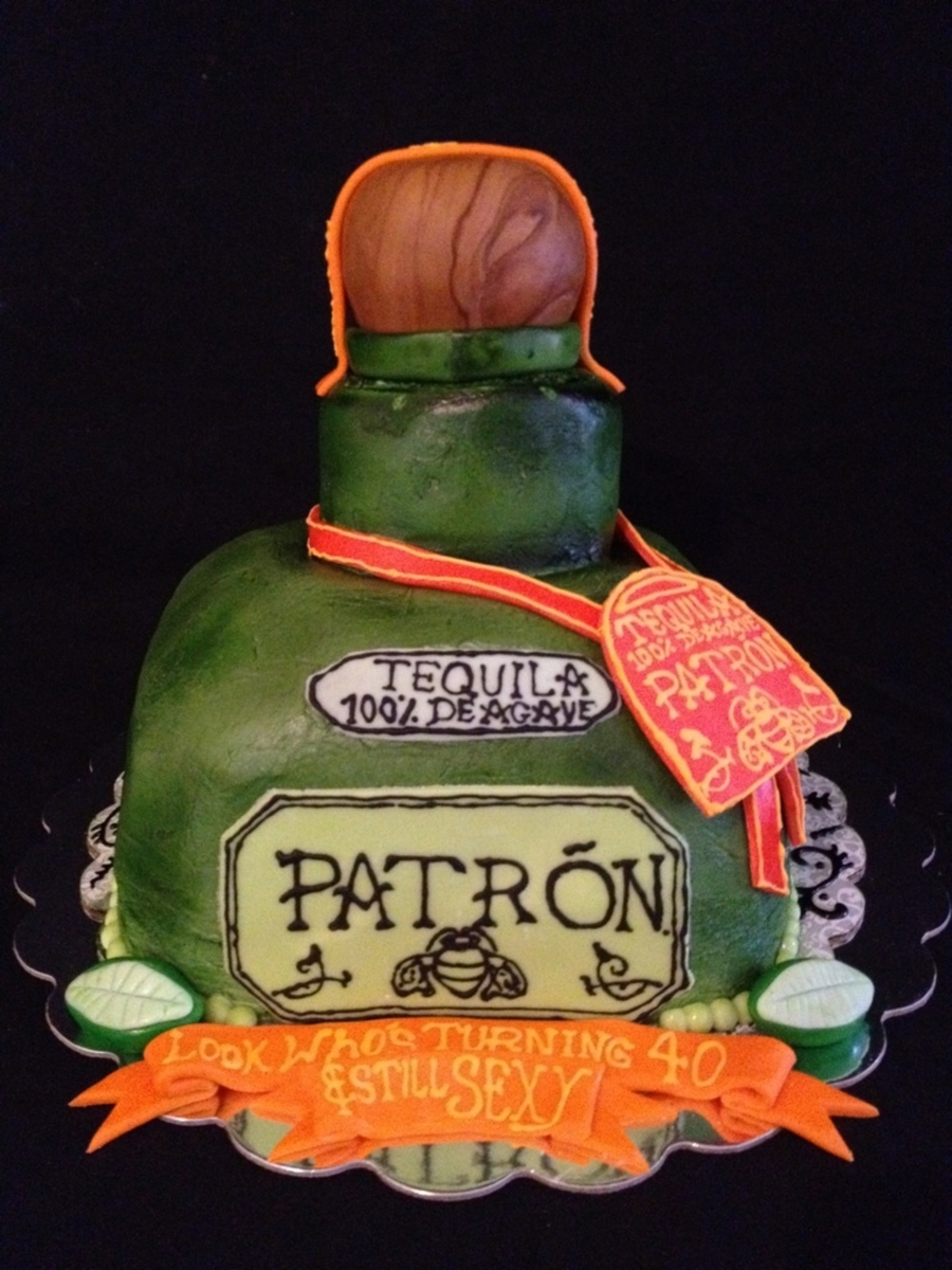 Patron Party Cake on Cake Central