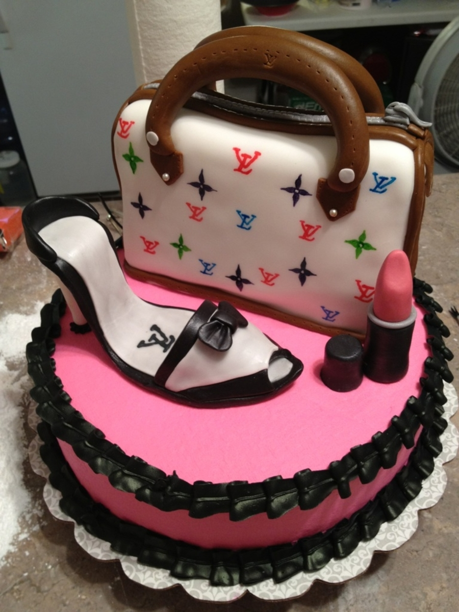 Glamour Birthday Cake Photos