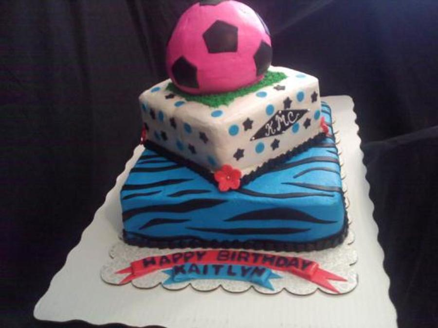 Soccer B-Day on Cake Central