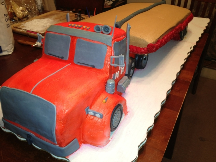 Truckers Cake on Cake Central