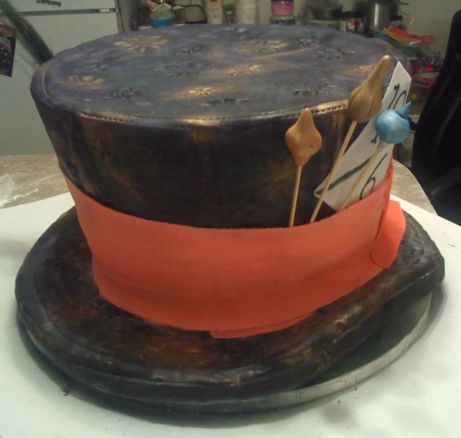 Mad Hatters Cake. on Cake Central