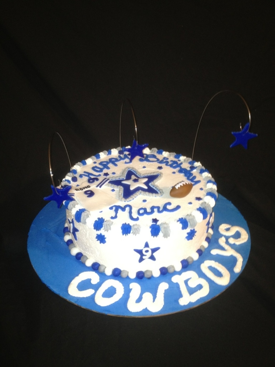 Cowboys Fan on Cake Central