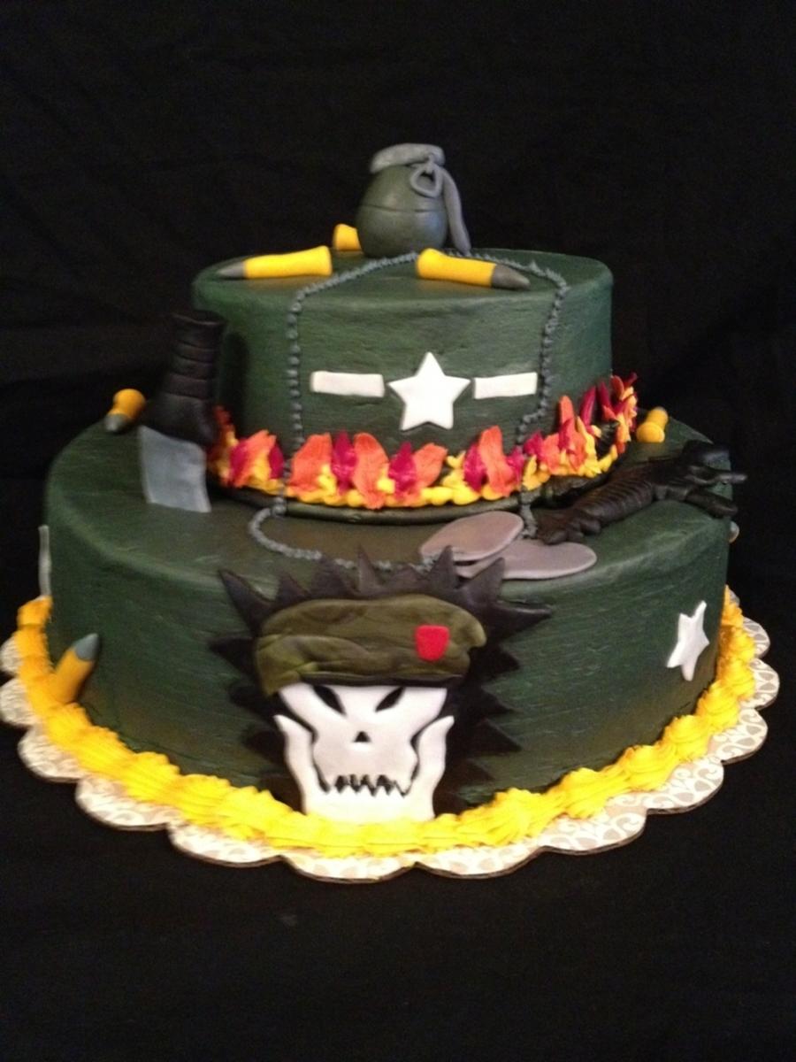 Black Ops Cake Cakecentral Com