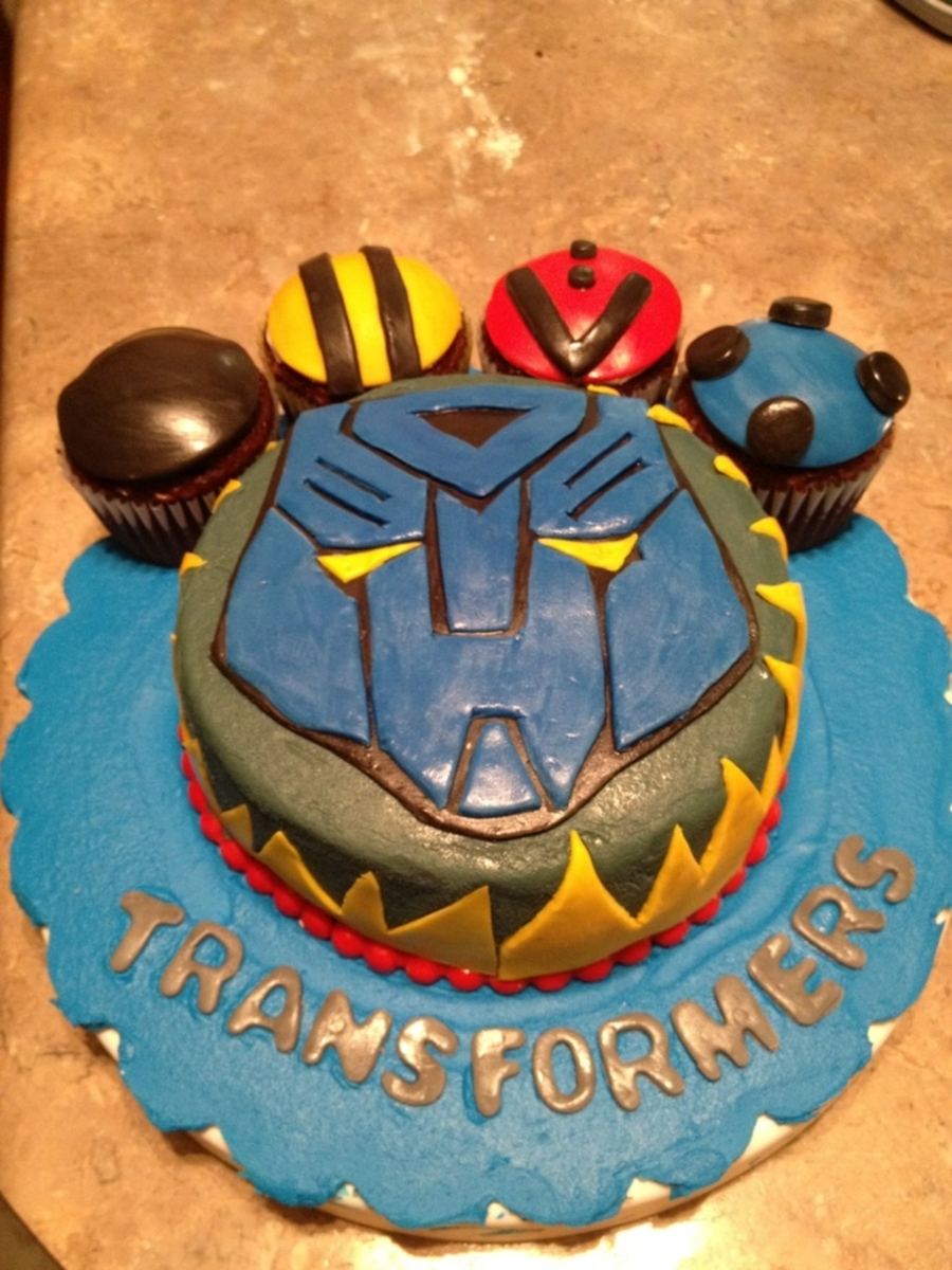 Transformers on Cake Central