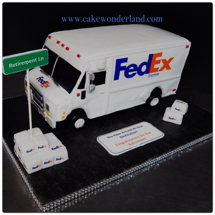 Fedex Truck All Cake Cakecentral Com