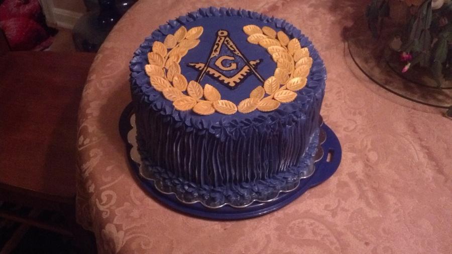Grand Master's Ball Masonic Cake - CakeCentral com