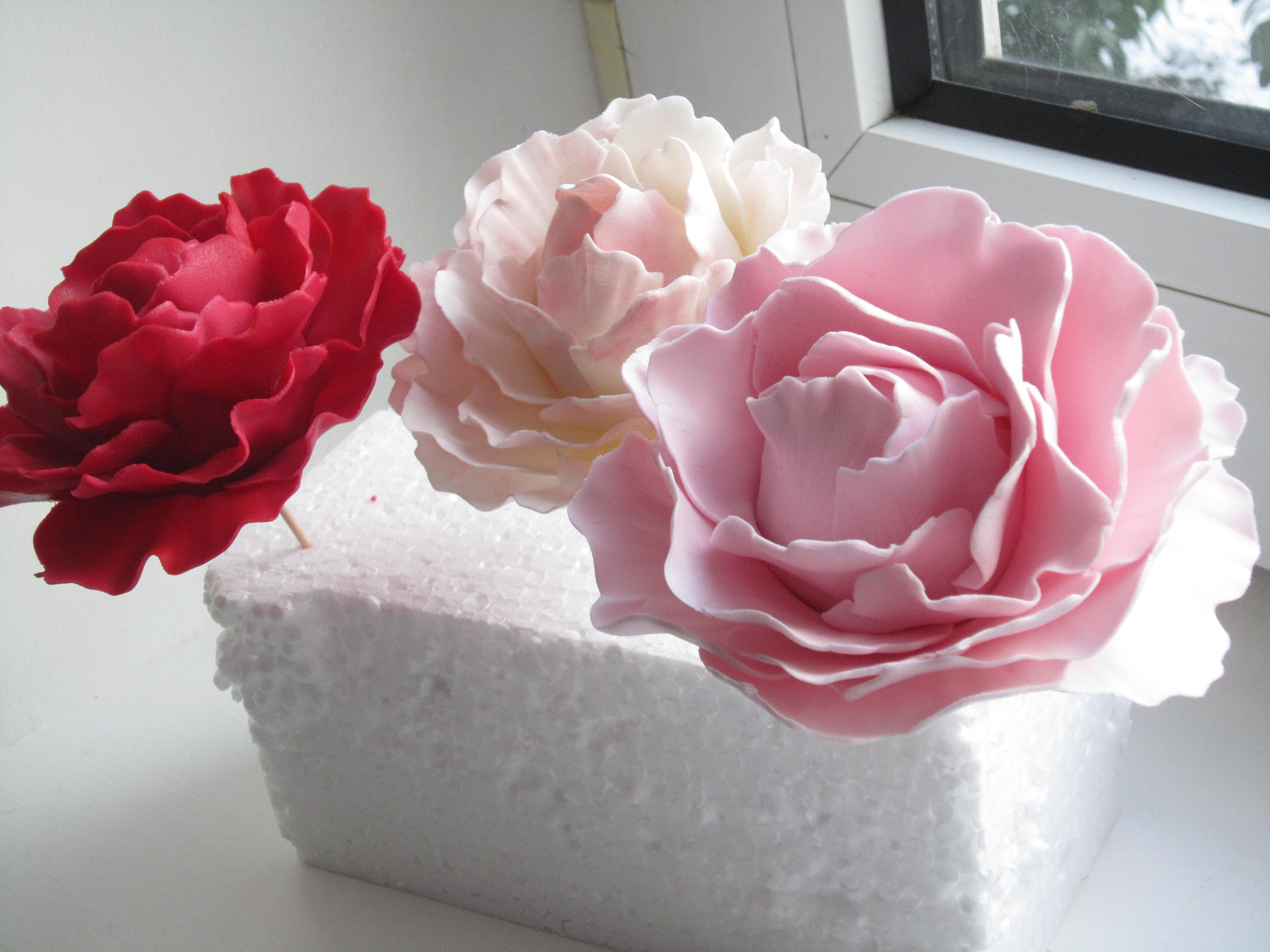 Peony Flowers So Much Fun To Make Cakecentral
