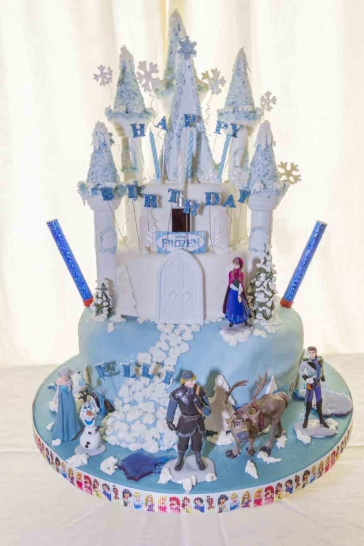 Ellie S 4th Birthday Cake Disney Frozen Theme
