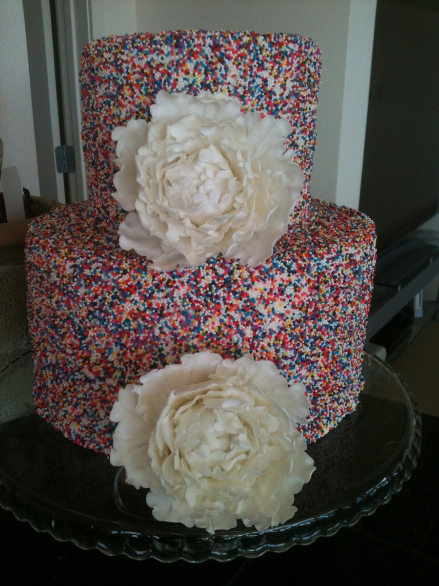 Jimmies And Peonies on Cake Central