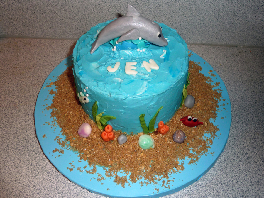 Dolphin Birthday Cake Cakecentral
