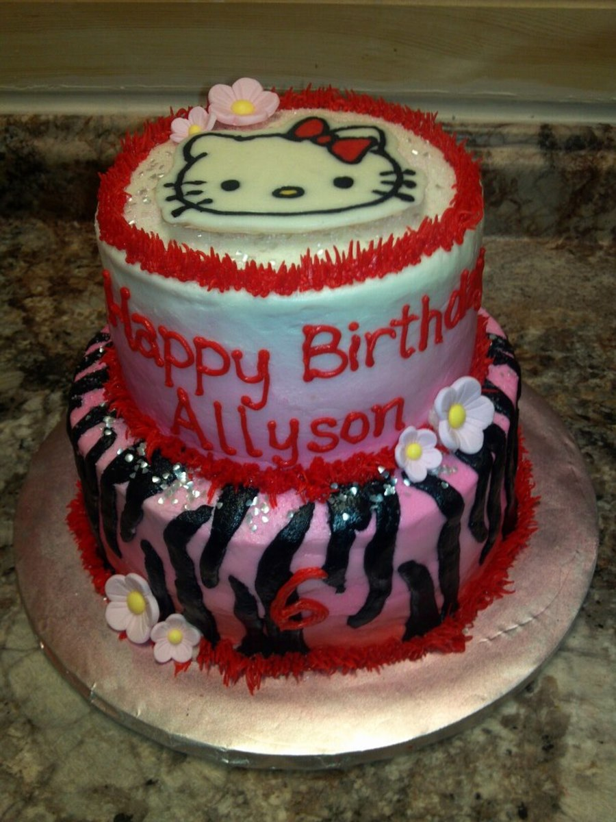 Hello Kitty3 on Cake Central