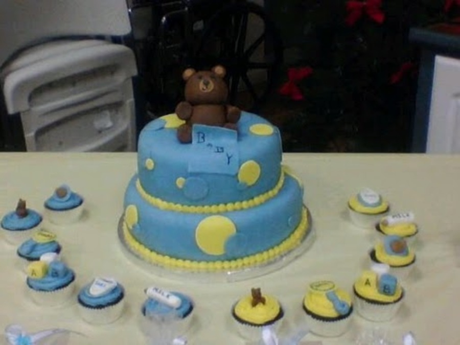 Teddy Bear Baby Shower on Cake Central
