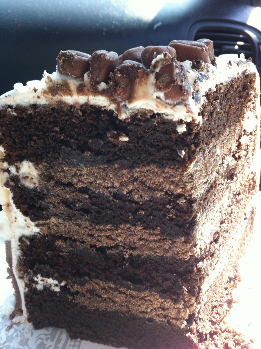 Coffee Bean Cake - CakeCentral.com