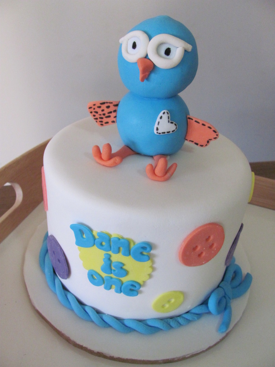 Hoot The Owl 1St Birthday on Cake Central