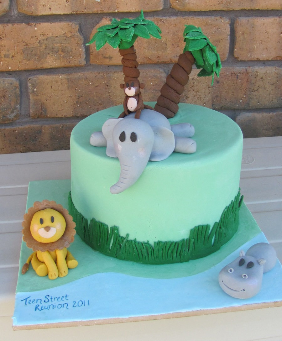 Safari / Jungle Cake ! on Cake Central
