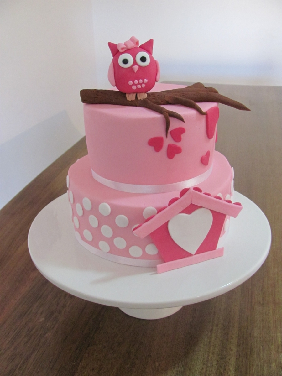 Owl 1St Birthday on Cake Central