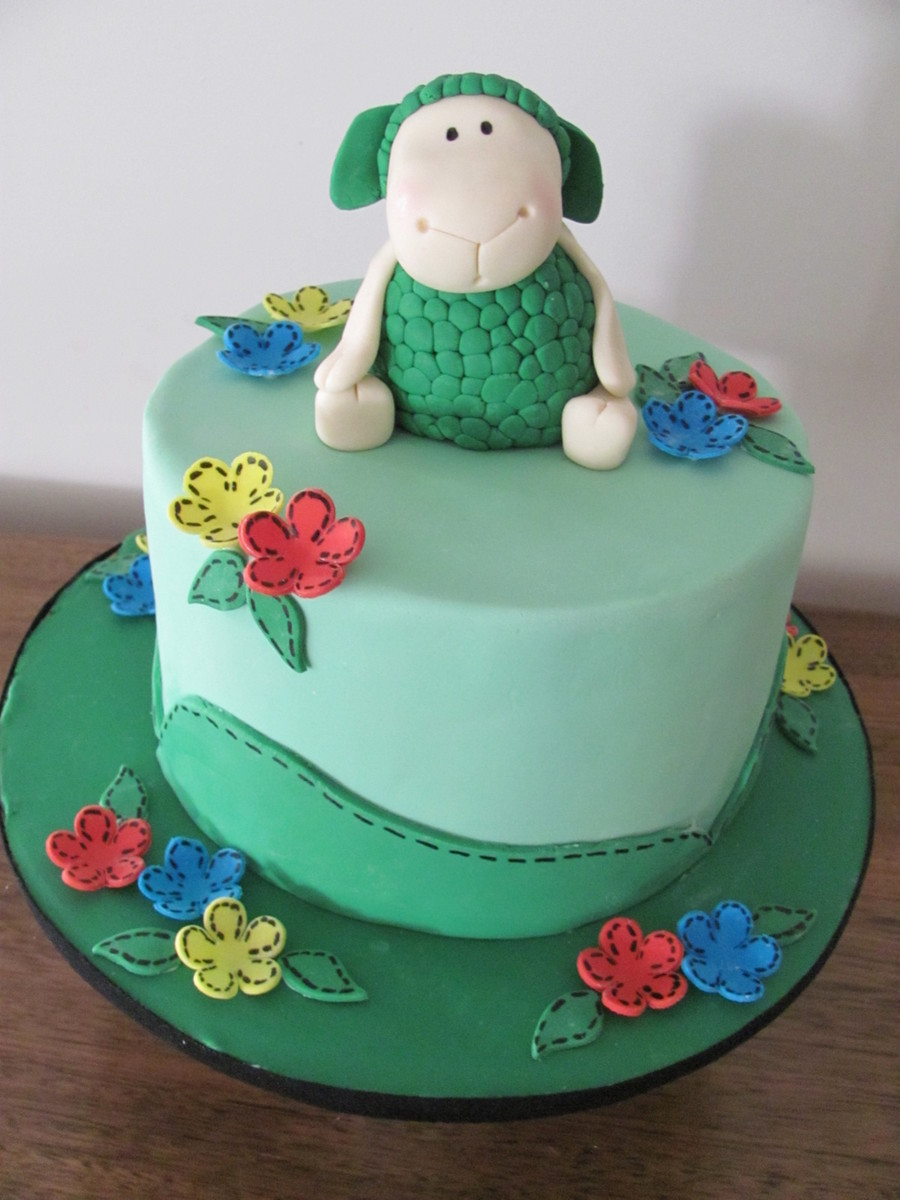 Where Is The Green Sheep? on Cake Central