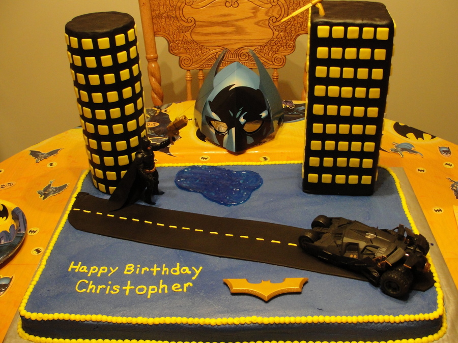 Batman Birthday Cake on Cake Central