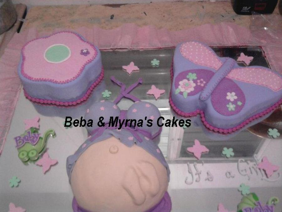 Belly Baby Cake on Cake Central