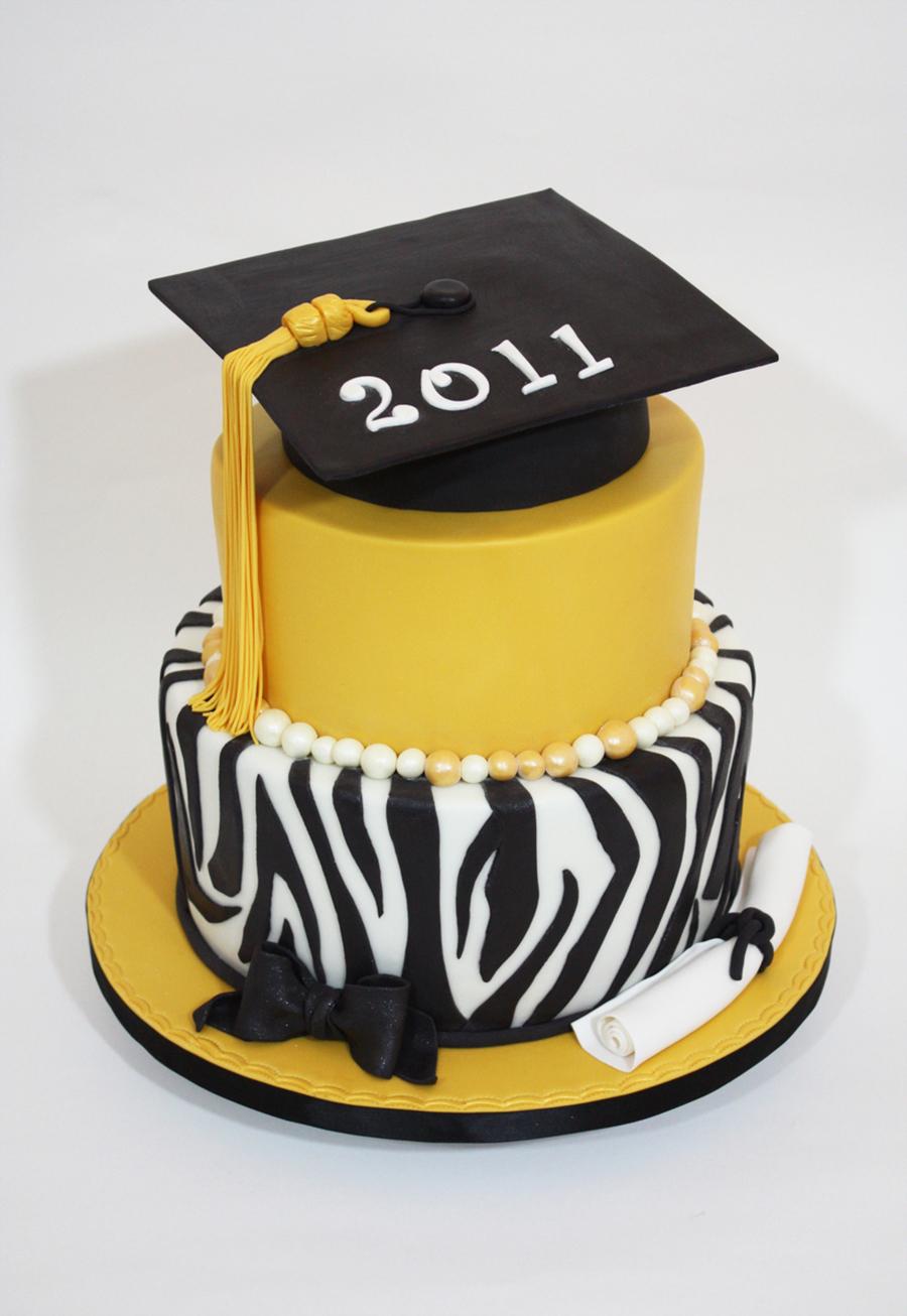 Zebra Stripe Cake Recipe