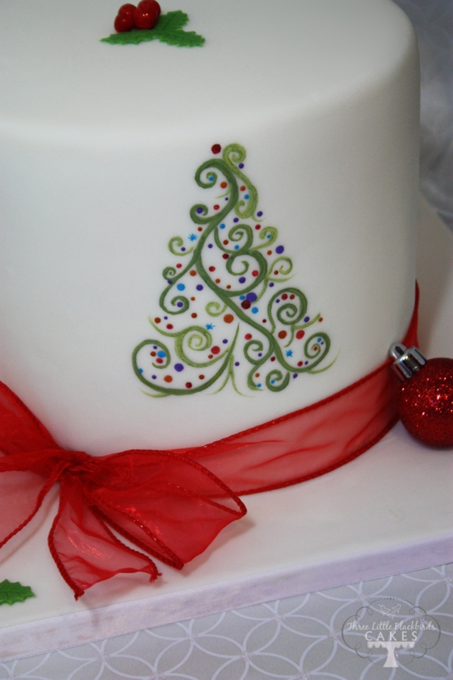 Hand Painted Wedding Cake Toppers