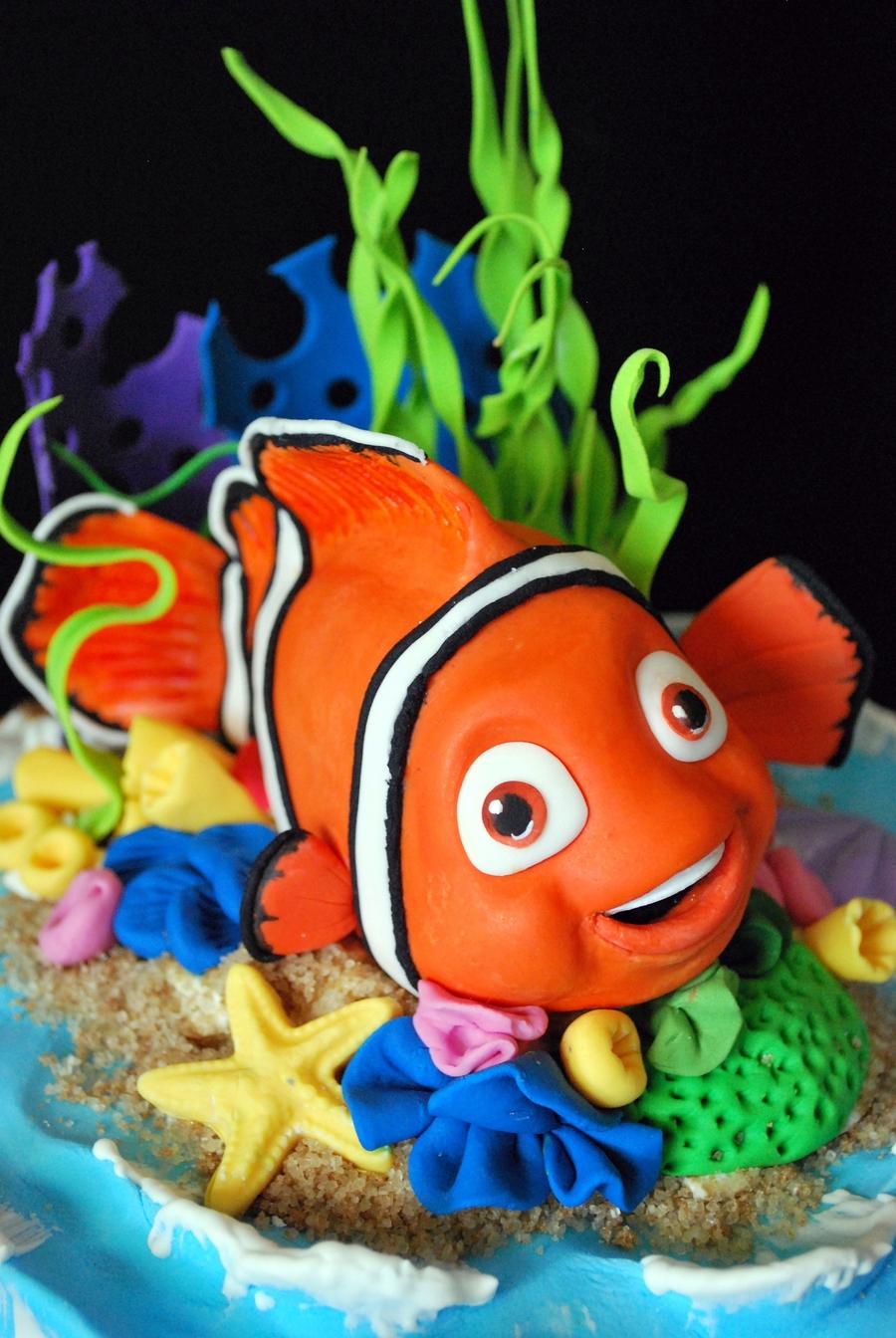 Nemo Birthday Cake Cakecentral Com