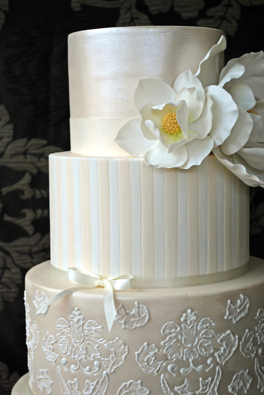 Four Tier Wedding Cake I Made For My Niece Original Idea Is Stunning ...