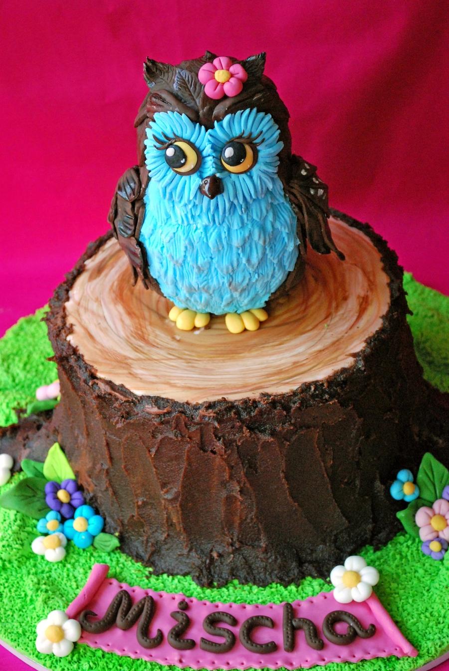 Cake Owl Recipe
